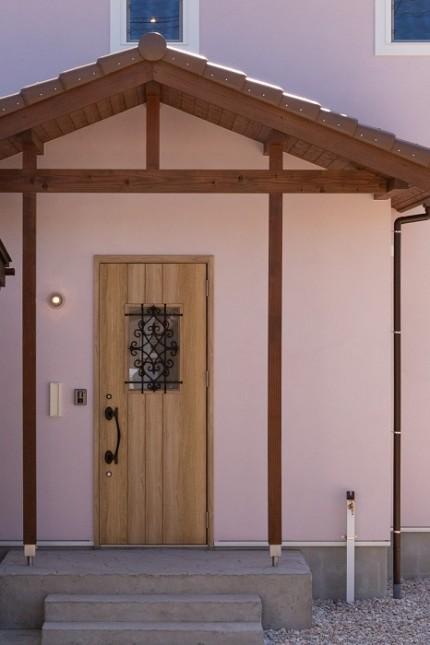 |ママン上越|ナチュラル|mamanの家|可愛いおうち|上越市|糸魚川市|妙高市|デザイン住宅|ビンテージ|かわいいお家|エイジング|デザインコンクリート|おしゃれな家|塗り壁|床|洗面化粧台|リビングドア|玄関ドア