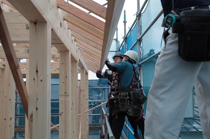 ママン上越|新築│上棟|上棟式|建前|建て方|建築中|ママン|Mamanの家