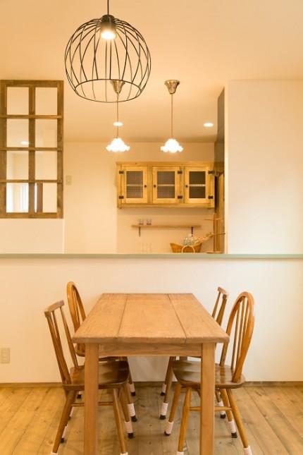Maman|ママンの家|オープンハウス|糸魚川市|ナチュラル|かわいい家|ママン上越|カネタ建設|照明機器|住宅完成見学会